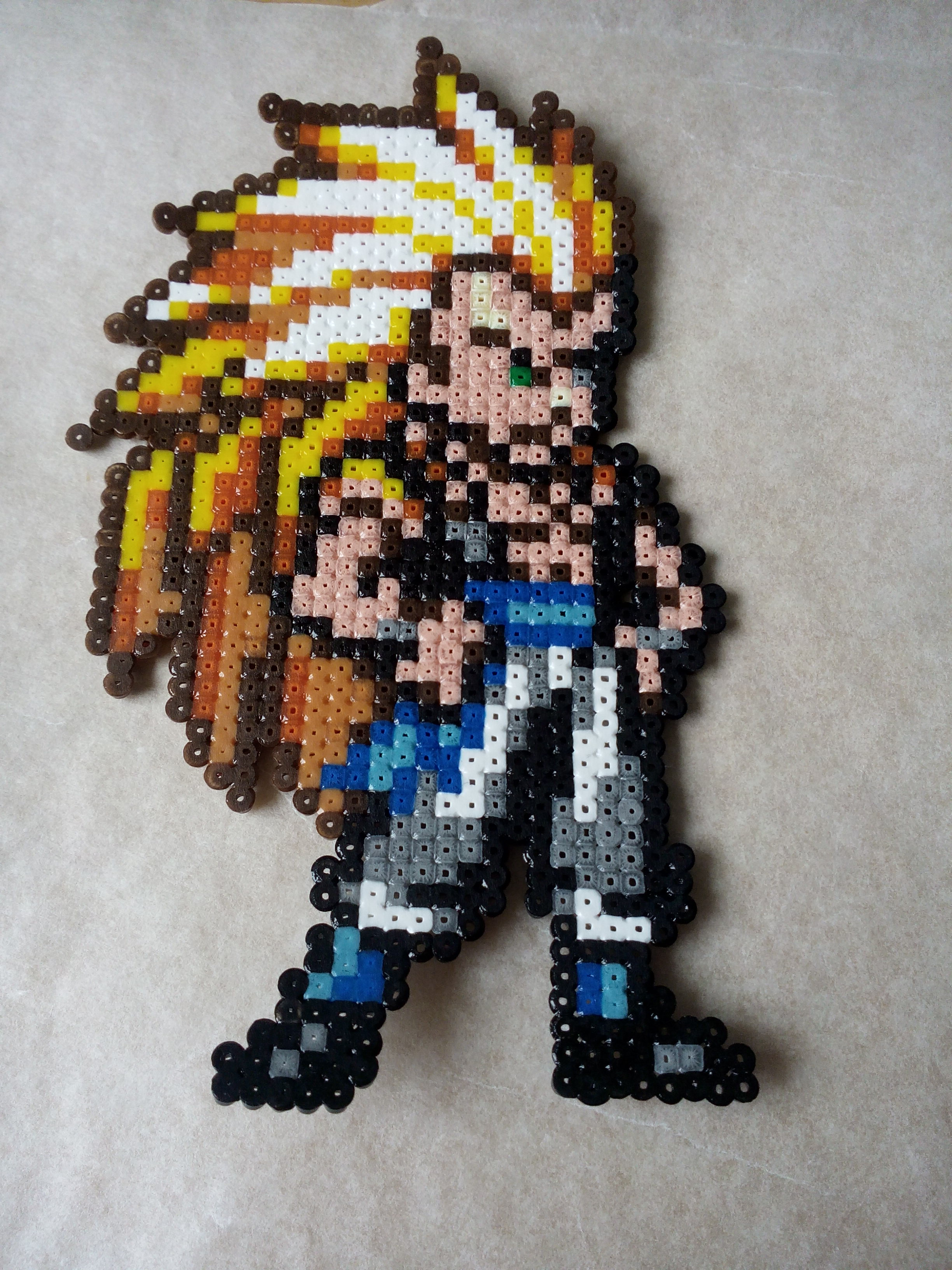 Pixel Art Gotenks Dragon Ball Z