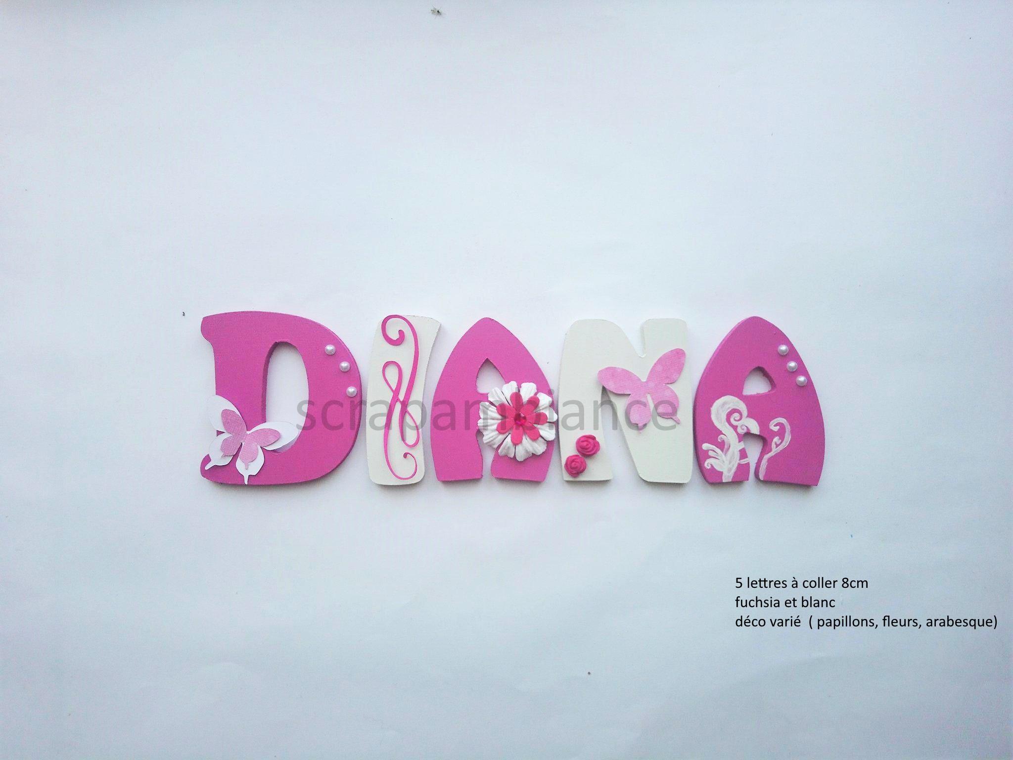 lettre prénom bébé, lettre prénom bois, lettres chambre bébé, lettre  décoration chambre, plaque de porte / lettre à coller / prénom à coller /  lettre