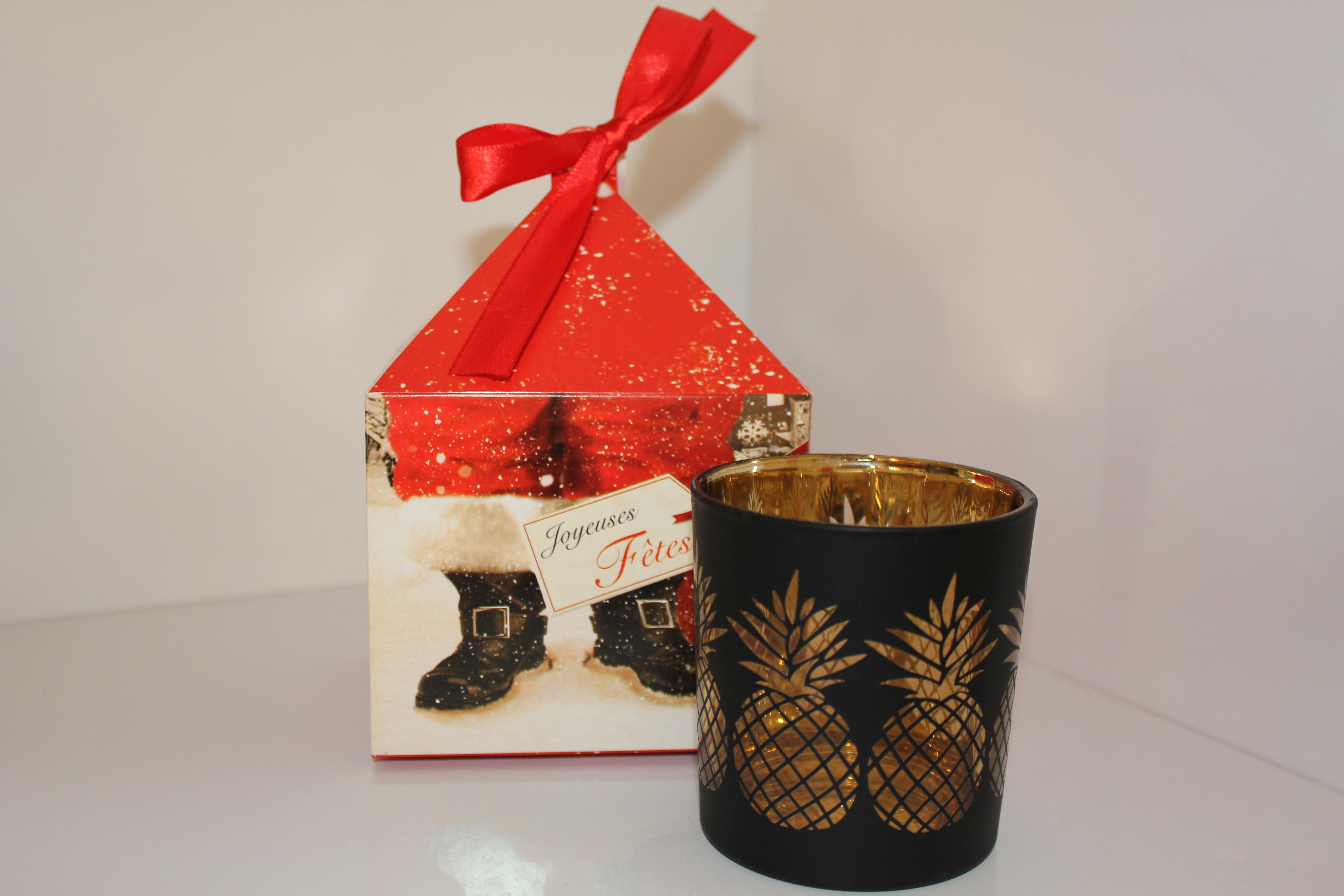 bougie parfum e coffret no l bougie par les creations de sophinette. Black Bedroom Furniture Sets. Home Design Ideas