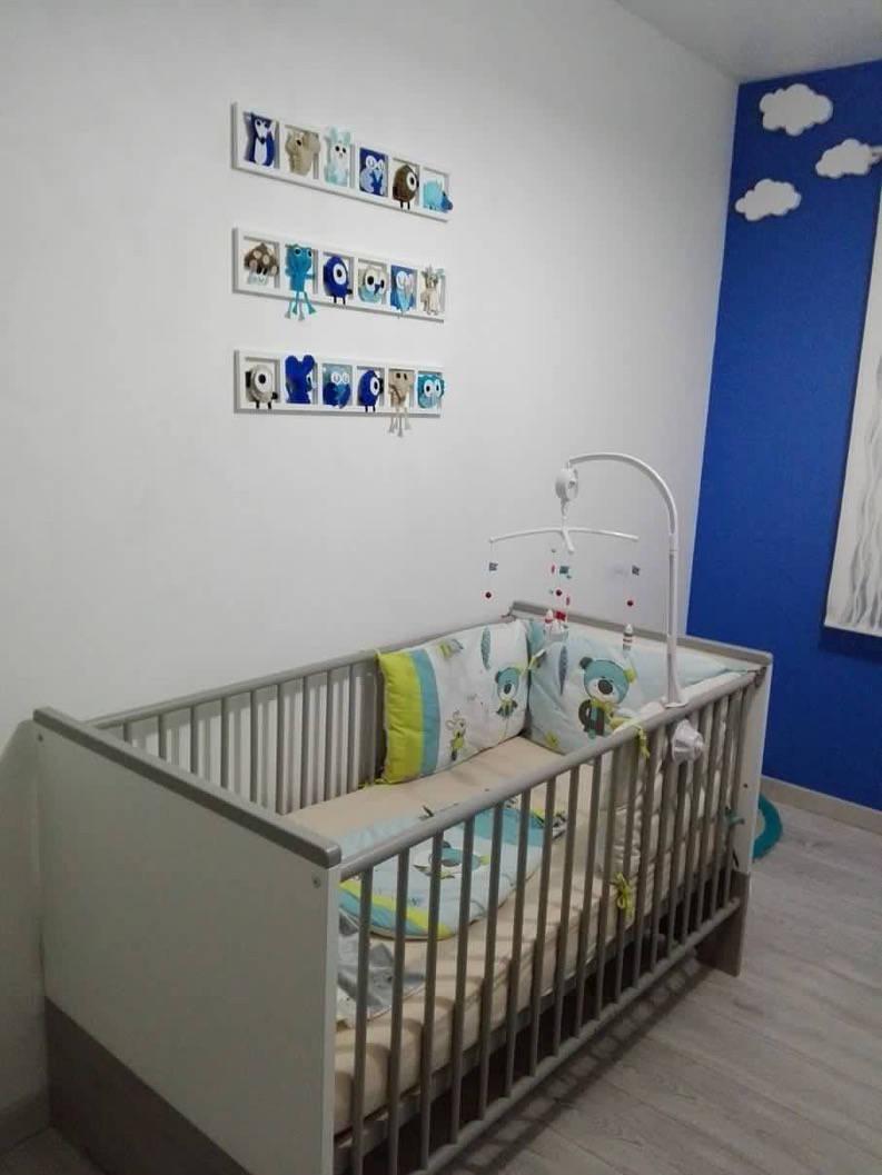 Décoration Chambre Taupe Et Beige decoration chambre bebe, cadeau naissance, tons bleu beige taupe