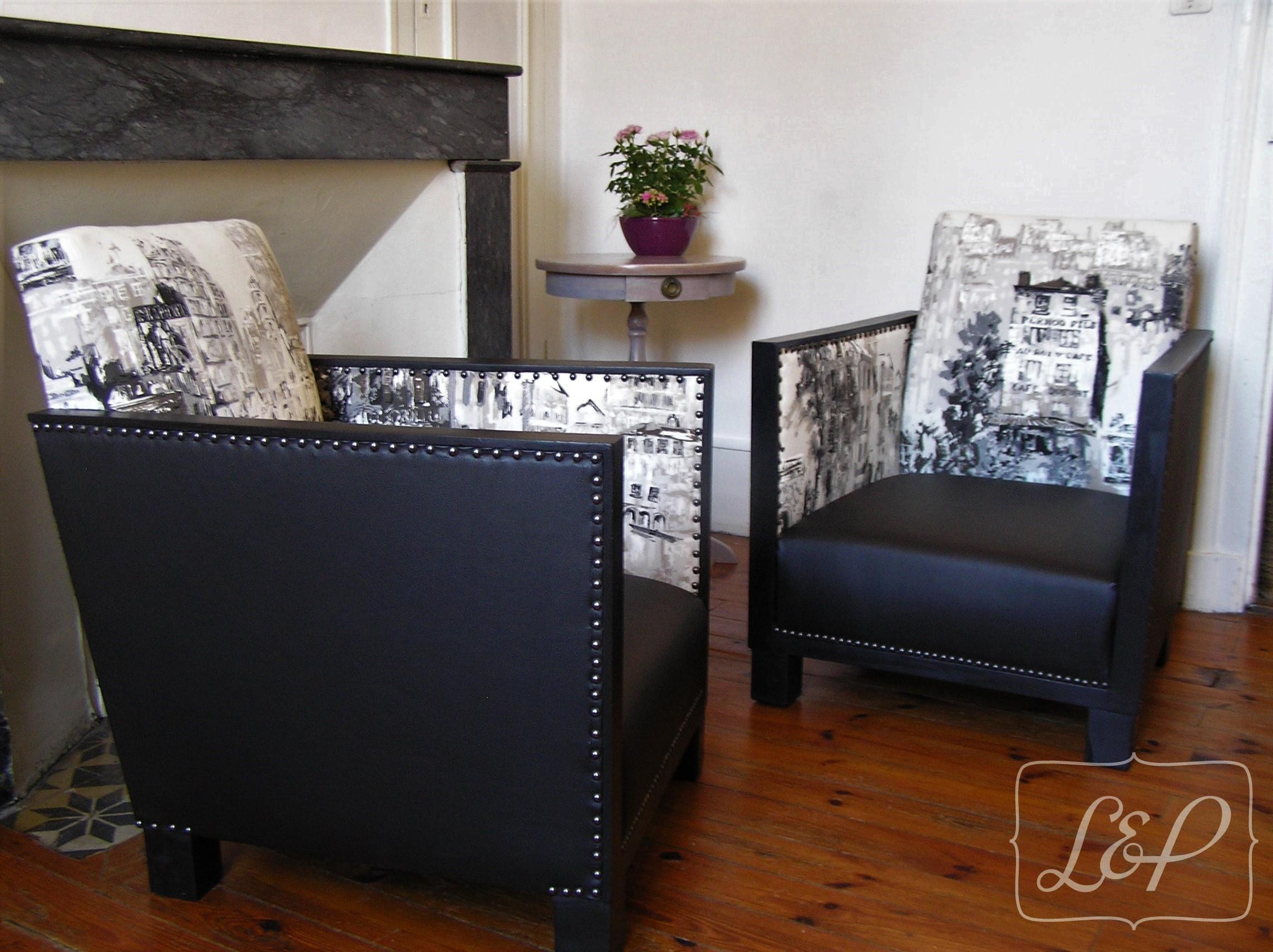 fauteuil studio art d co des ann es 30 restaur vieux. Black Bedroom Furniture Sets. Home Design Ideas
