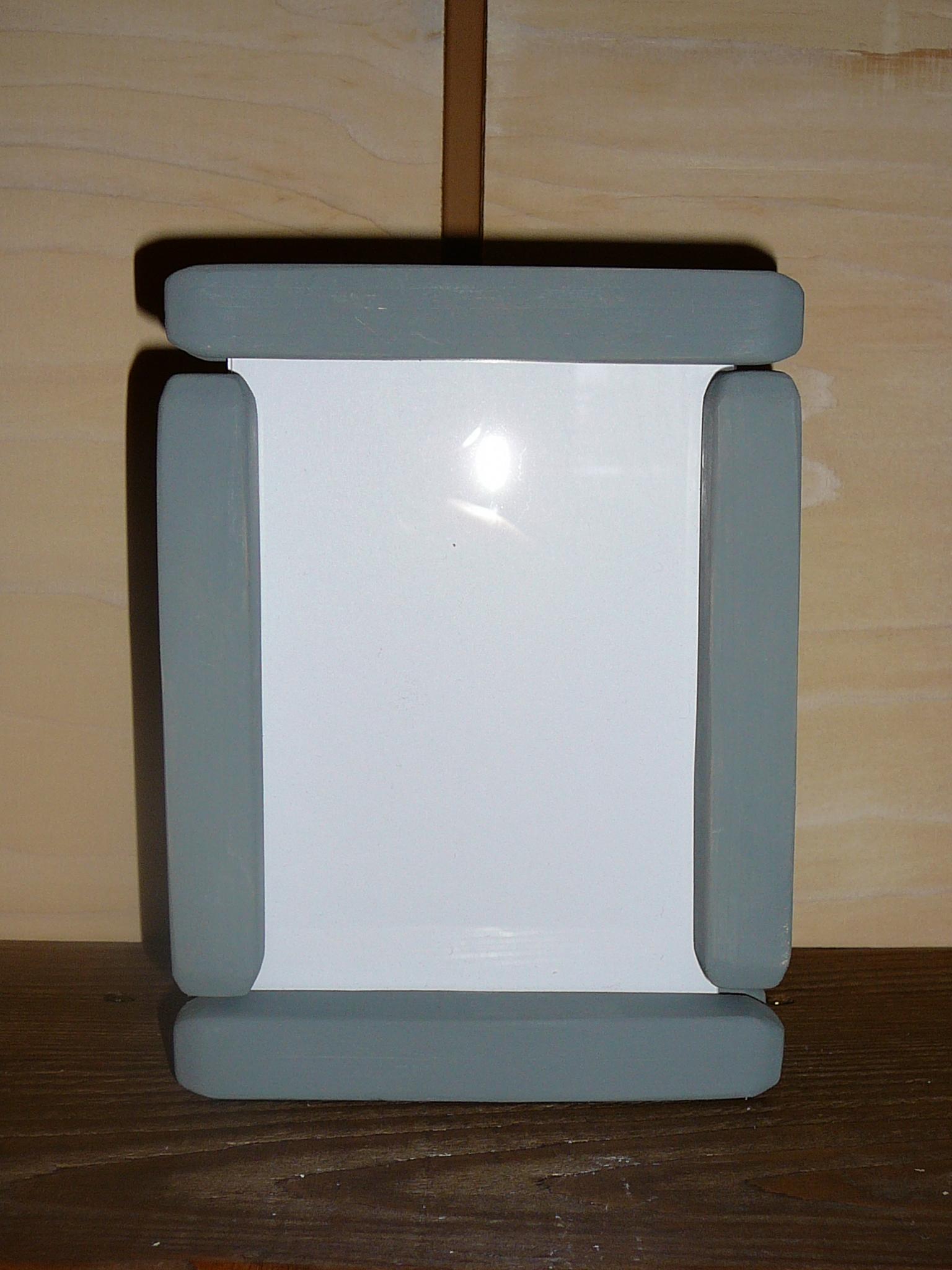 Kit cadre photo modulable 10x15 bois gris chalet montagne ...
