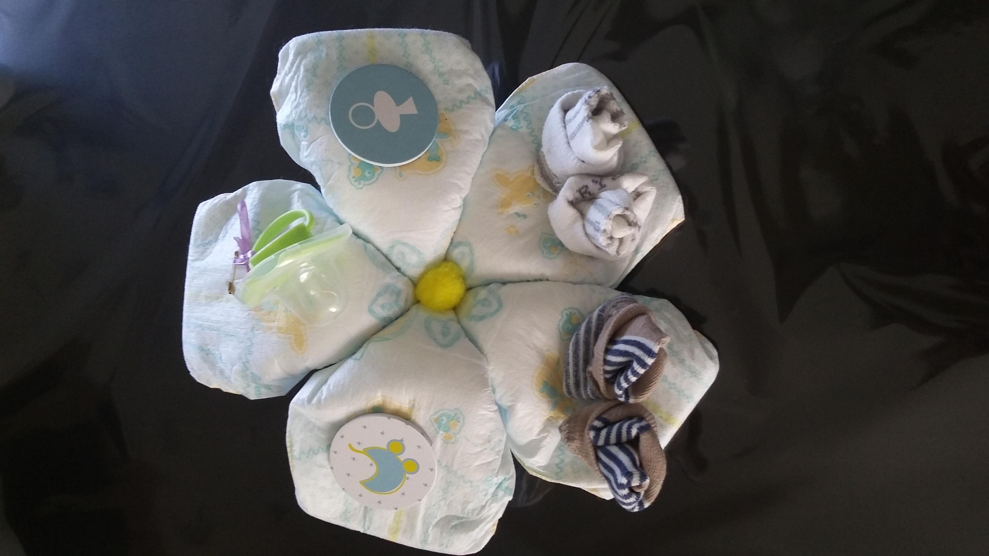 fleurs de naissance original fait main cadeau de naissance. Black Bedroom Furniture Sets. Home Design Ideas
