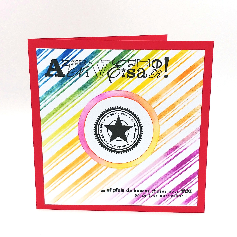 Joyeux Anniversaire En Couleur Carte Anniversaire Pour Femme Carte Anniversaire Pour Homme Happy Birthday Card Carte Anniversaire Garçon