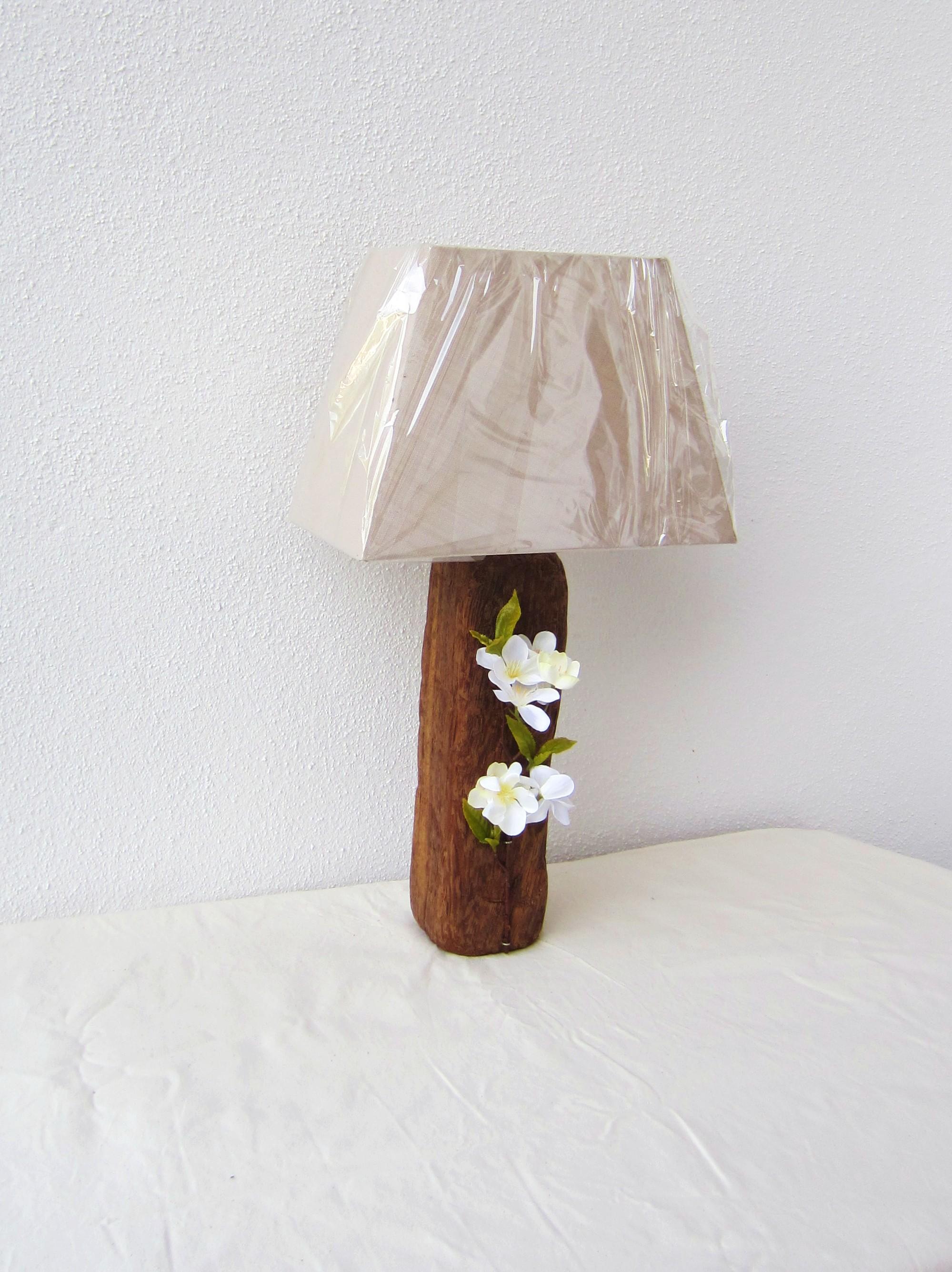 """Lampe bois flotté """" cube"""" : luminaires par lamercreative"""