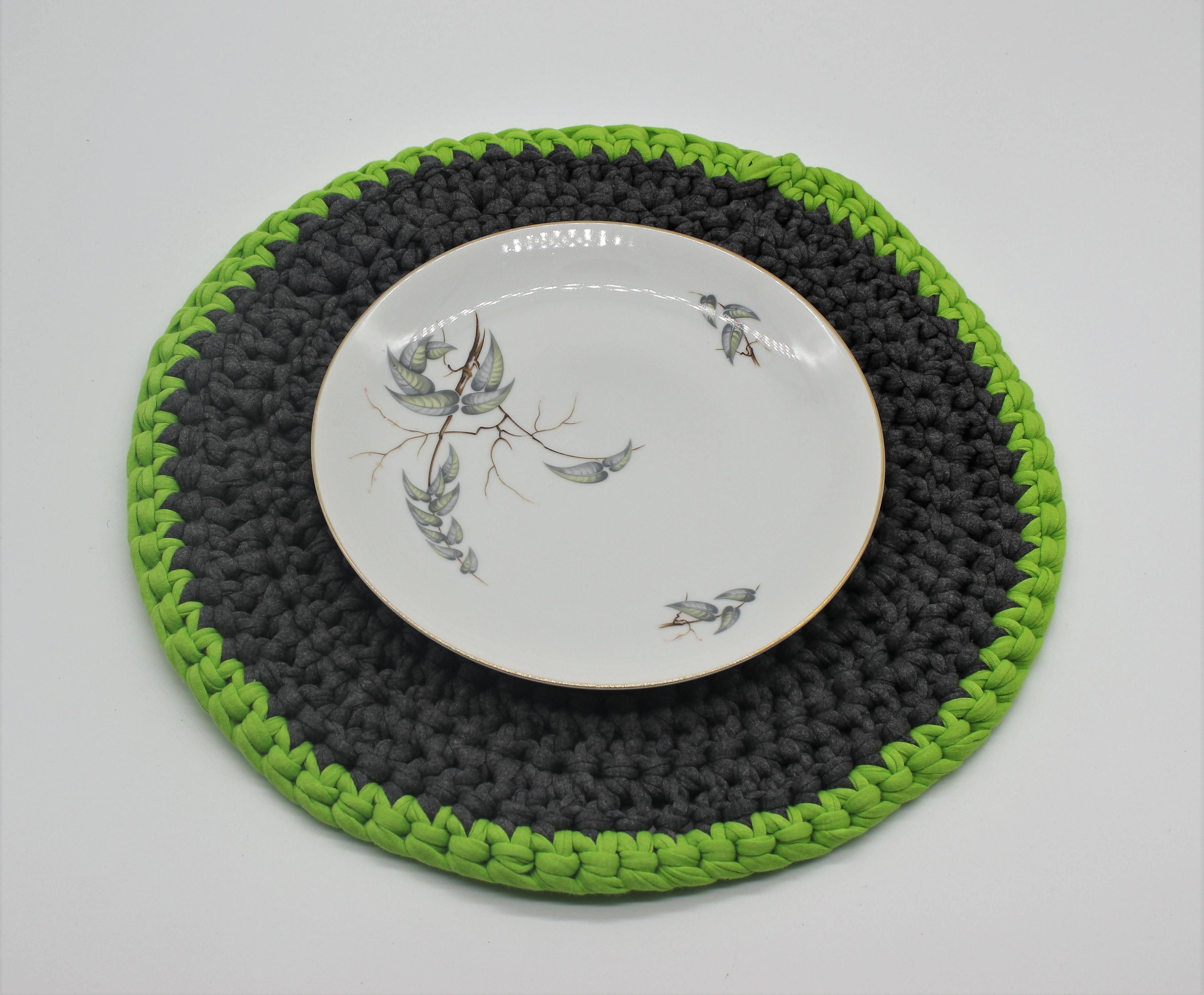 Set De Table Elle Et Lui Fait Main Au Crochet Maison Et Deco