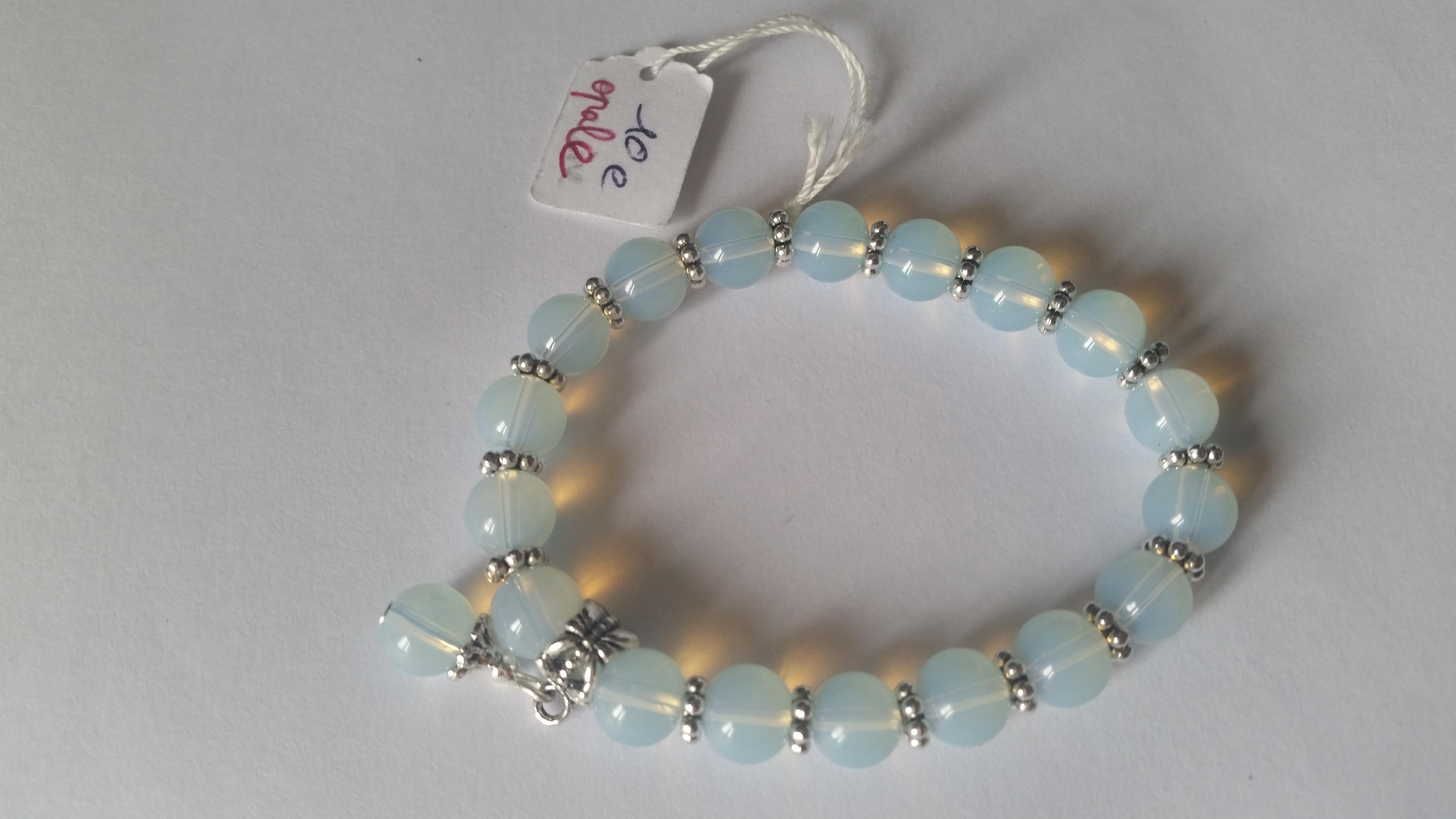 grossiste a4454 ddf1d bracelet opale (vrai pierre)