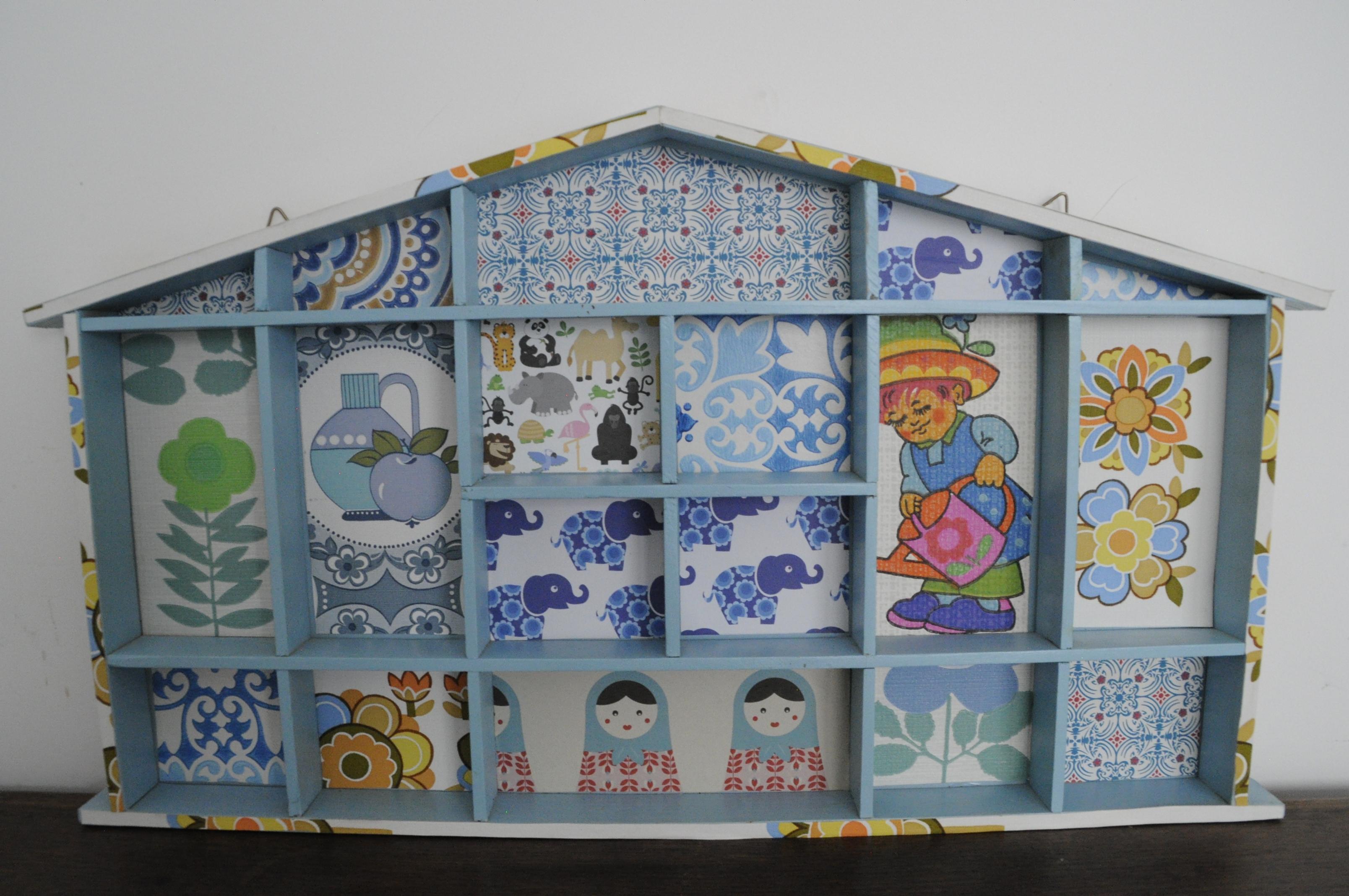 Etag re miniatures d coration murale enfant enfants chambre d enfant par bahialafee - Etagere murale fait maison ...