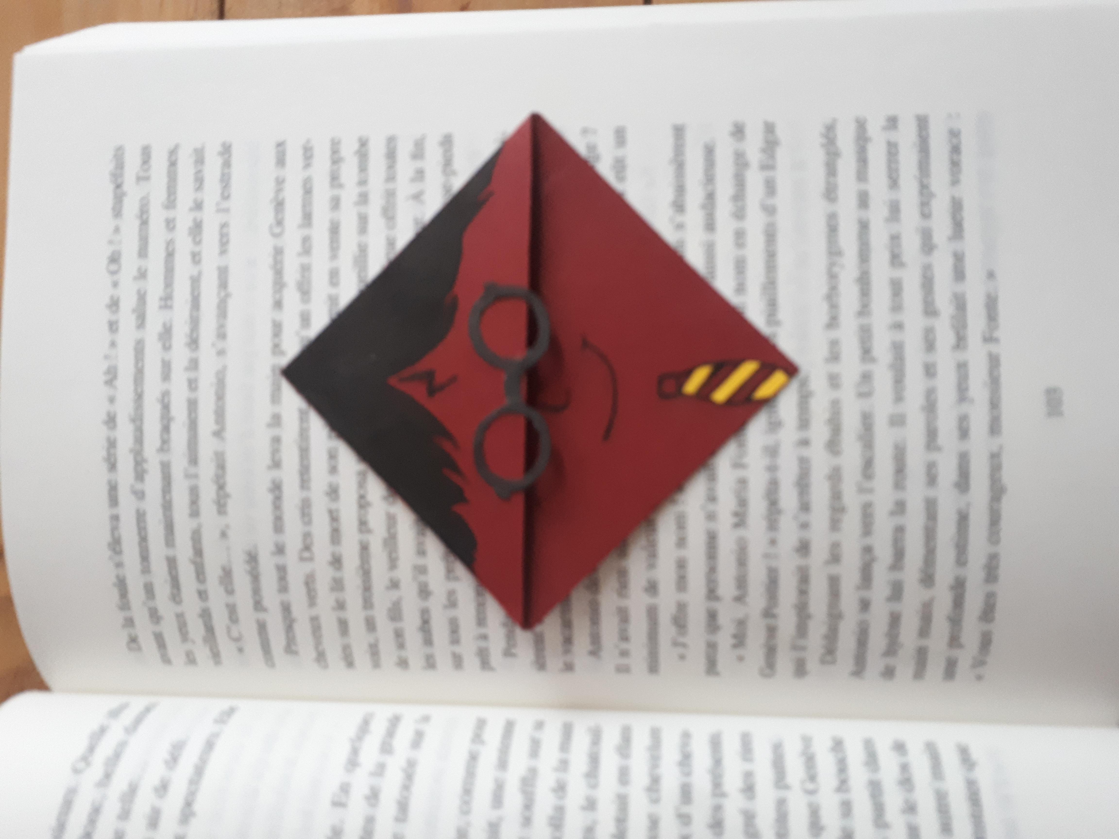Harry Pages Marque Harry Pages Carré Potter Marque Carré oCrdxBe