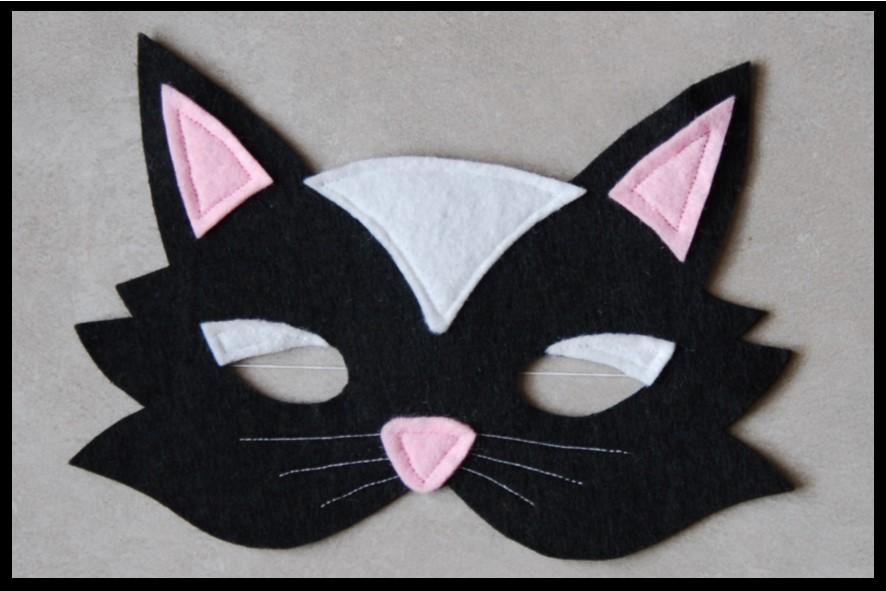 Masques Deguisement Chat Enfants Autres Jeux Jou S Par Creat Creations Artisanales