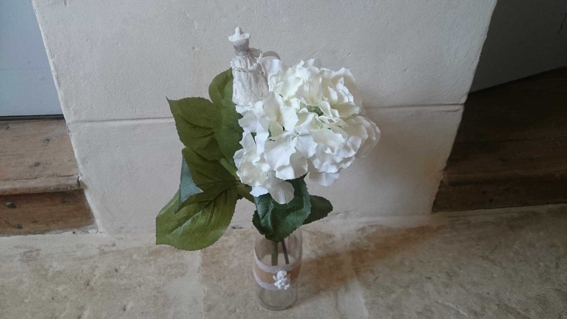 Pique plantes d coration senteur pour composition florale shabby maison et deco - Decoration florale maison ...