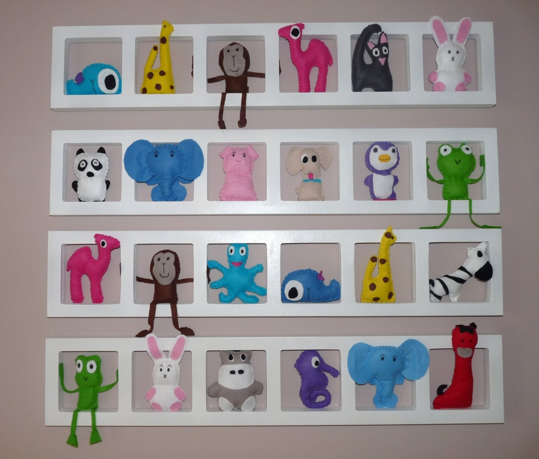 Décoration chambre enfant et bébé unique et colorée -nos amis