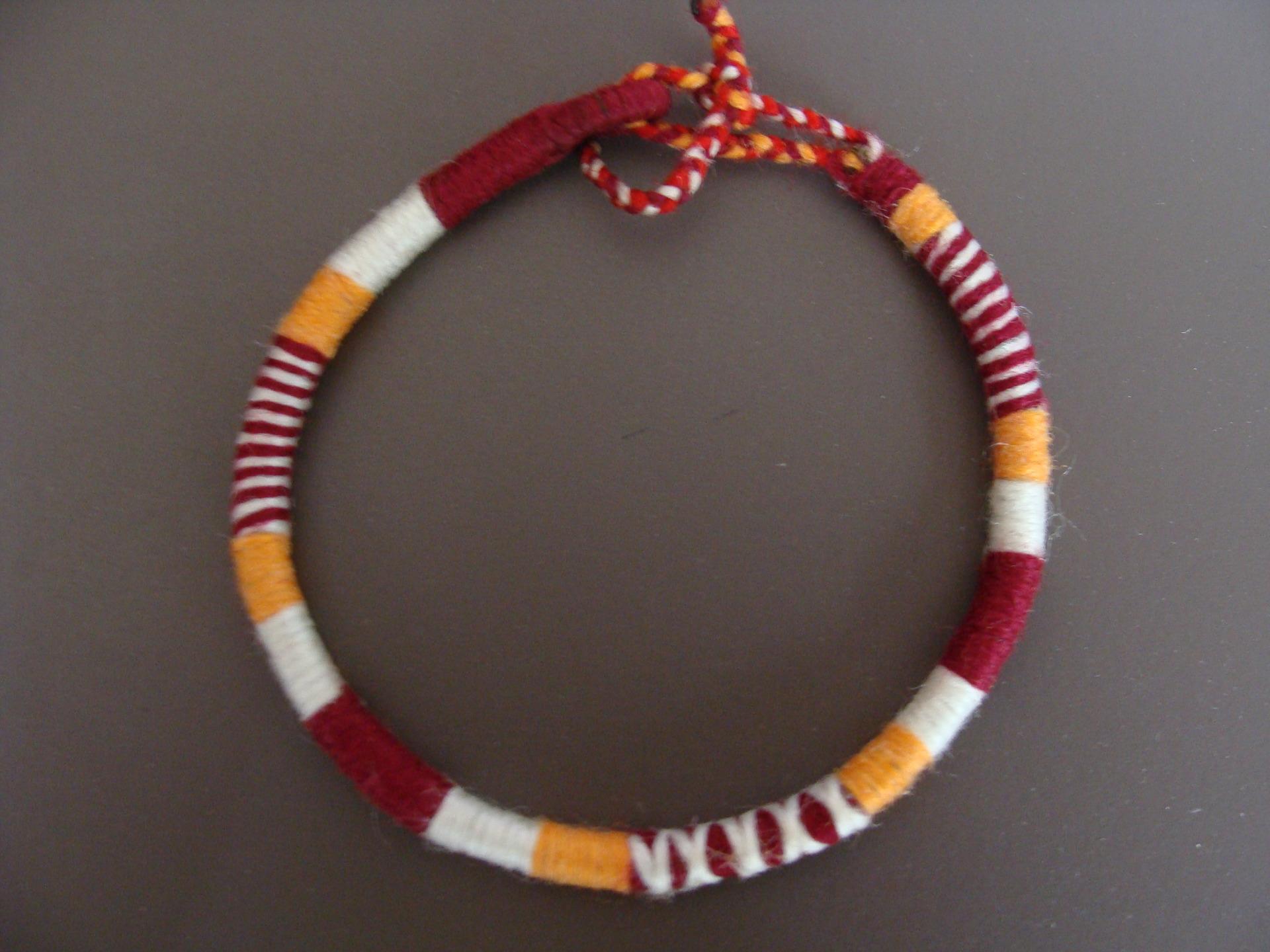 Bracelet laine homme